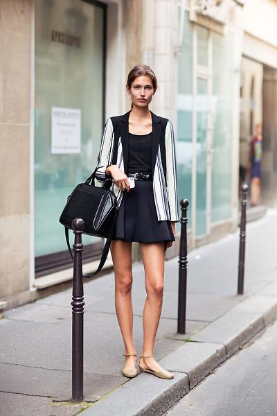 Балетки с черным платьем фото